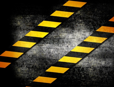 Under Construction with yellow stripes illustration illustration