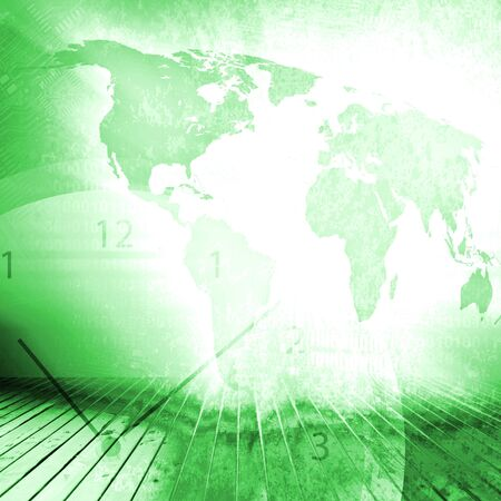 World Business Background Concept Stock Photo - 19177916