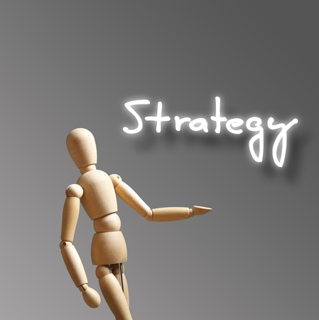 Modern business strategy concept with challenges  photo