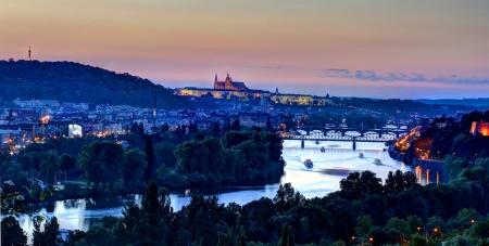 Prague castle, Czech Republic, Europe photo
