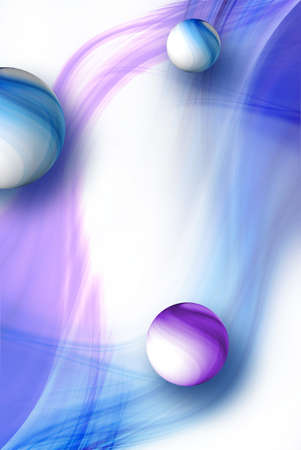 wil: Abstract background wil sphere and abstract shapes