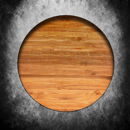 Wood and iron texture with space for text Stock Photo - 25082736