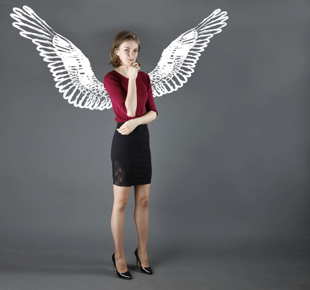 Business angel investment concept photo