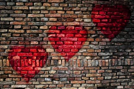 historische: Oude historische oude bakstenen muur