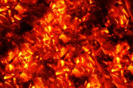 fireside: Abstract Fire Background with Flames in red and yellow color