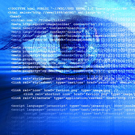 futuristic eye: Technology in the eye - futuristic technology business concept Stock Photo
