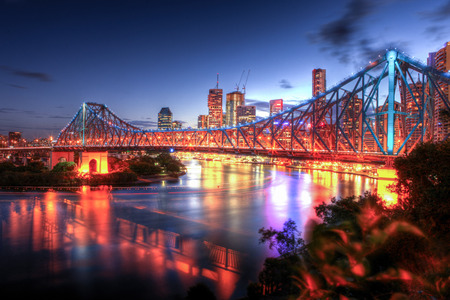 Brisbane Central Business District in Australia Stock Photo - 69240015