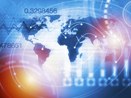 Quantitatives Aktien- und Devisenhandelskonzept mit künstlicher Intelligenz und maschinellem Lernen Standard-Bild - 93568885