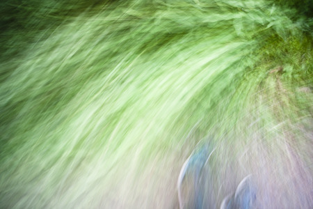 Abstract background with abstract shapes in green Stok Fotoğraf