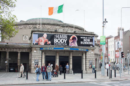 ambassador: DUBLIN - MAY 20: The Human Body Exhibition in The Ambassador in Dublin extends till the end of July on May 20, 2012 in Dublin. The Human Body Exhibition features over 200 full body and individual organs.