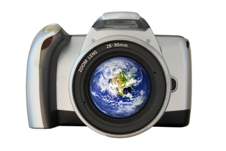 The world in your viewfinder Stock Photo - 14219913