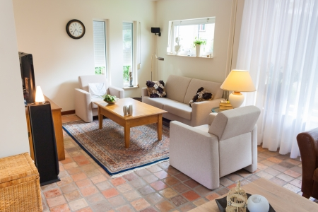 Dutch home inter living room in contemporary style Stock Photo - 21621507