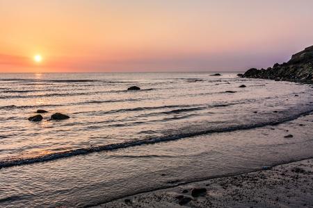 sunup: Sunrise over the Irish Sea at Bray County Wicklow Ireland