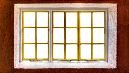 panoramas: Window frame with cut out windows to be used as template for panoramas
