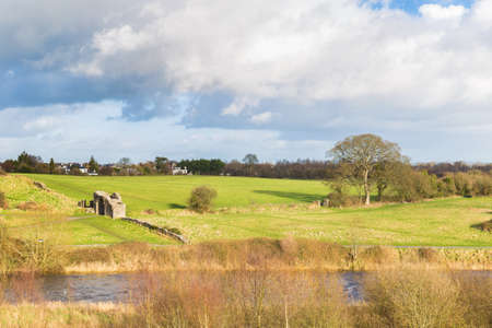 Sheeps Gate and the River Boyne at Trim Ireland