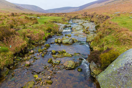 Dargle River in Wicklow Mountains photo