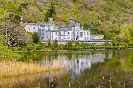 connemara: Kylemore Abbey in Connacht Editorial