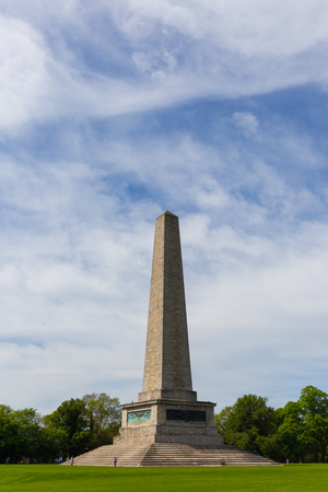 Wellington Monument on a sunny day in Phoenix Park
