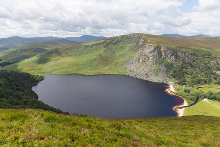tay: Lough Tay also known as Guinness Lake Stock Photo