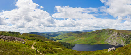 tay: View of Sally Gap and Lough Tay