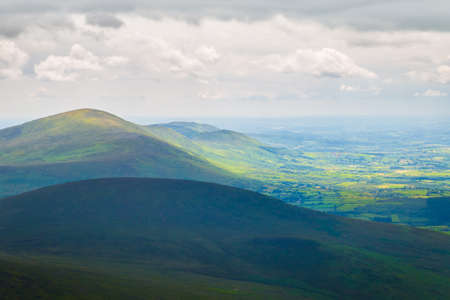leinster: Blackstairs Mountain seen from Mount Leinster