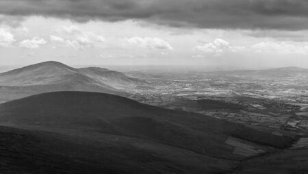 blackrock: Blackstairs Mountains in Carlow