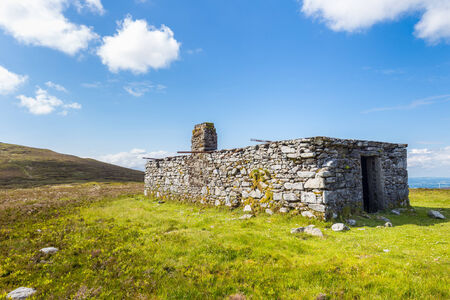 leinster: Brick shelter on Blackrock Mountain