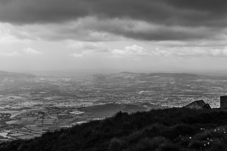 blackrock: County Carlow view from Mt Leinster