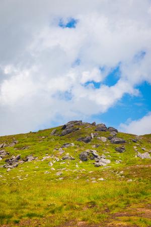 blackrock: Granite formation on the summit of Mt Leinster