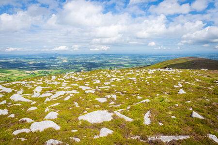 blackrock: Many scattered rocks on the mountain