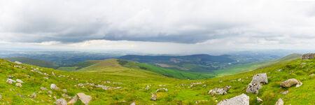blackrock: Panorama of Mount Leinster hillside