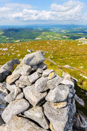 blackrock: Pile of rocks indicating Blackrock Mountain summit
