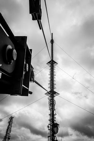 leinster: RTE Antenna on Mount Leinster