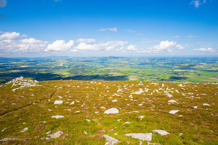 blackrock: Scattered rocks and the county Carlow landscape