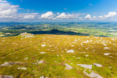 blackrock: Shadow of a cloud covering the Irish landscape