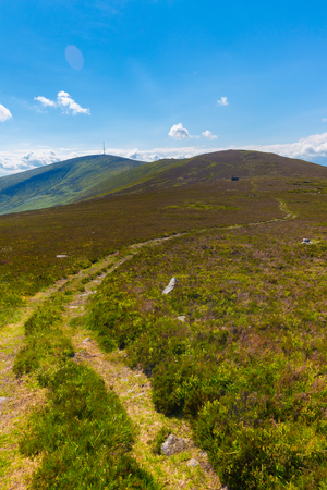 blackrock: Trail to Mount Leinster