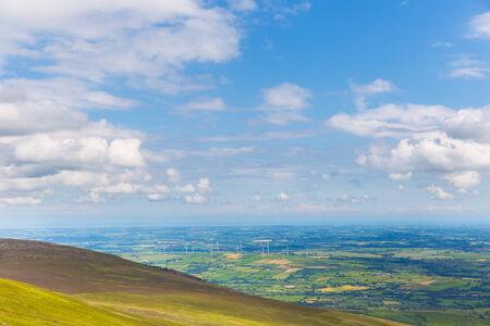 blackrock: Wind turbines in County Carlow