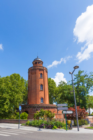water tower: Old water tower in Toulouse France