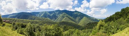 foothill: Panorama of Parc naturel regional des Pyrenees ariegeoises
