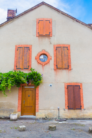 parc naturel: Typical French house in the Boussenac area in the south of France