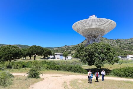 propulsion: Robledo de Chavela, Spain  May 15, 2015: The Madrid Deep Space Communications Complex is a ground station located in Spain. It is part of NASAs Deep Space Network to communicate with spacecraft. Editorial