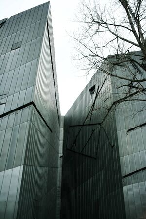 A photo of the Jewish Museum in Berlin, Germany, designed by the architect Daniel Libeskind Stock Photo - 11478310
