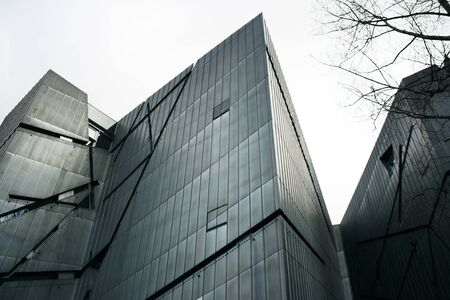 jewish culture: A photo of the Jewish Museum in Berlin, Germany, designed by the architect Daniel Libeskind