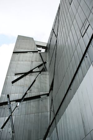 A photo of the Jewhis Museum in Berlin, Germany, designed by the architect Daniel Libeskind Stock Photo - 11478308