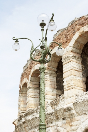 Detail of the wonderful Arena of Verona, Italy Stock Photo - 13623726