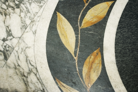 marbles close up: Detail abstract background of an art nouveau marble decoration
