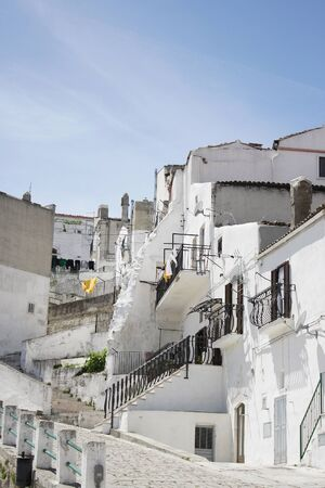 monte sant'angelo: Glimpse of the beautiful town of Monte SantAngelo, Apulia, Italy
