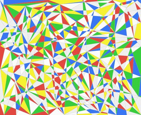 primary colors: Background abstract multicolored graphic lines