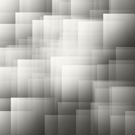 nuance: Abstract background of squares and rectangles shapes in nuance from dark grey to white color