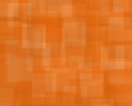nuance: Abstract background of squares and rectangles shapes in nuance in vivid Orange color
